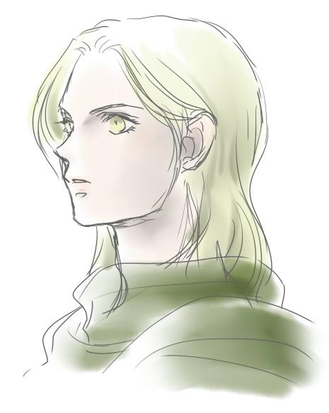 長髪グレン